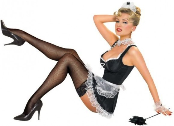 French Maid: 'Föck Me If I'm Rong' » Scandipop.co.uk